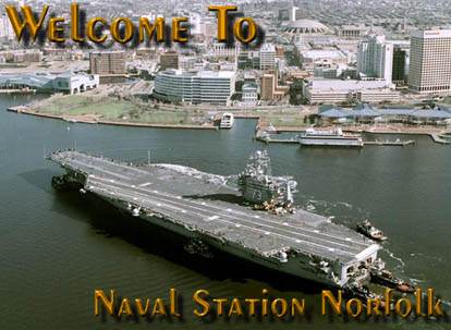 Naval Air Station at Norfolk, Virginia